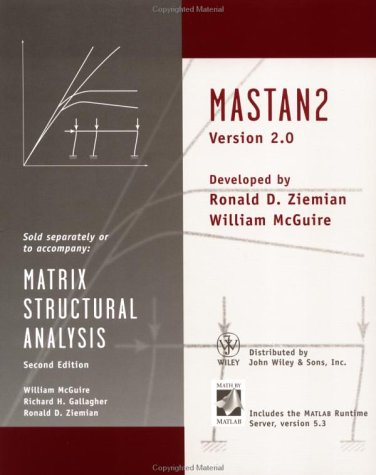 9780471447351: Matrix Structural Analysis Matstan 2 Version 2.0