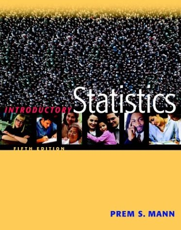 9780471448075: Introductory Statistics