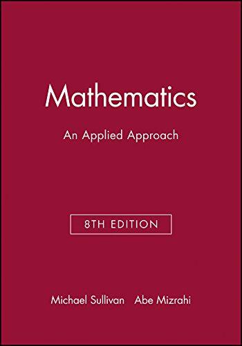 9780471448242: Technology Resource Manual to accompany Mathematics: An Applied Approach, 8e