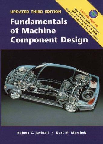 9780471448440: Fundamentals of Machine Component Design