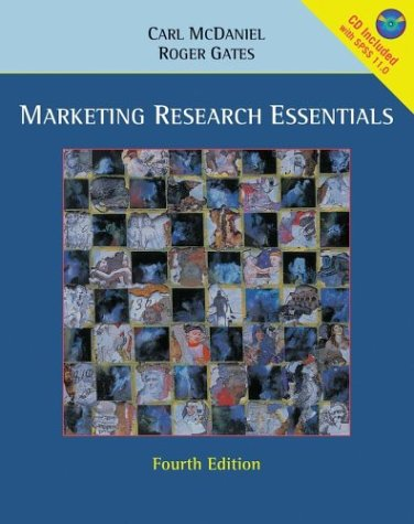 Marketing Research Essentials: Carl Jr. McDaniel,