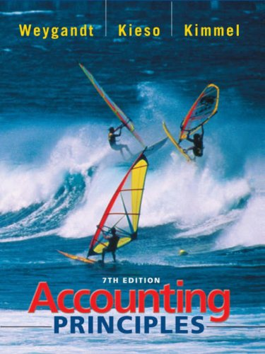 Accounting Principles: 7th: Weygandt, Jerry J.;