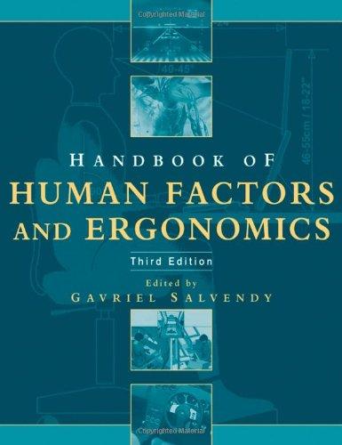 9780471449171: Handbook of Human Factors and Ergonomics