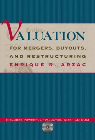 9780471449447: Valuation for Mergers, Buyouts and Restructuring