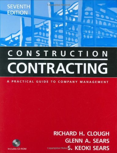 9780471449881: Construction Contracting: A Practical Guide to Company Management