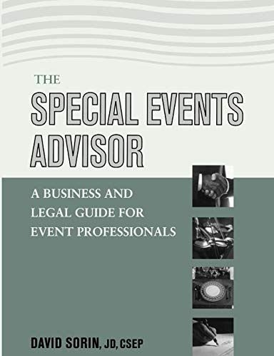 9780471450108: The Special Events Advisor: A Business and Legal Guide for Event Professionals