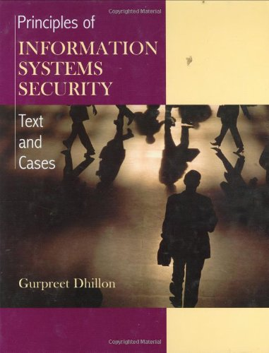 9780471450566: Principles of Information Systems Security: Texts and Cases