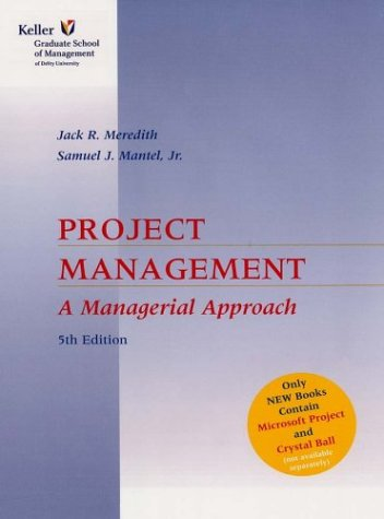 9780471450573: Project Management: A Managerial Approach