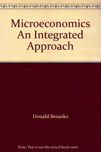 9780471451143: Microeconomics An Integrated Approach
