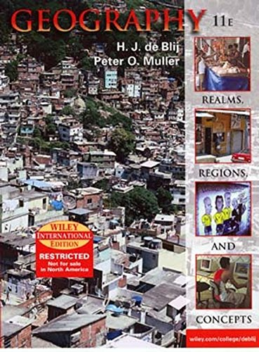 9780471451488: Realms, Regions and Concepts: International Edition