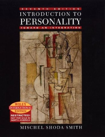 9780471451532: Introduction to Personality: Toward An Integration