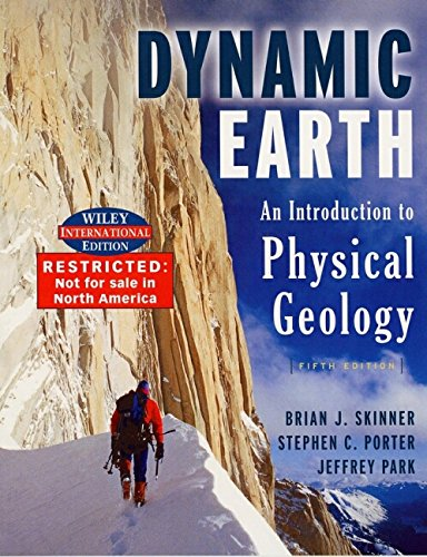 9780471451570: The Dynamic Earth: An Introduction to Physical Geology
