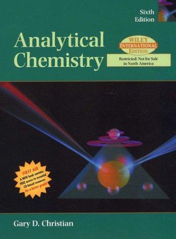 9780471451624: Analytical Chemistry