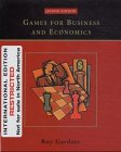 9780471451754: Games for Business and Economics