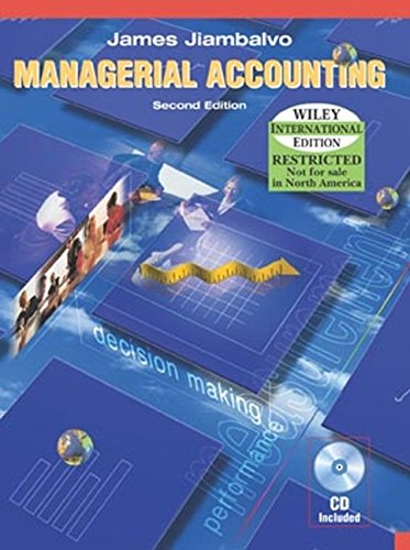 9780471451839: Managerial Accounting