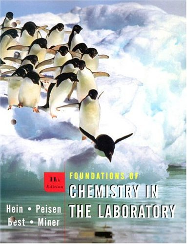 9780471451952: Foundations of Chemistry in the Laboratory workbook, 11th edition