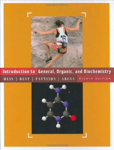 9780471451969: Introduction to General, Organic, and Biochemistry