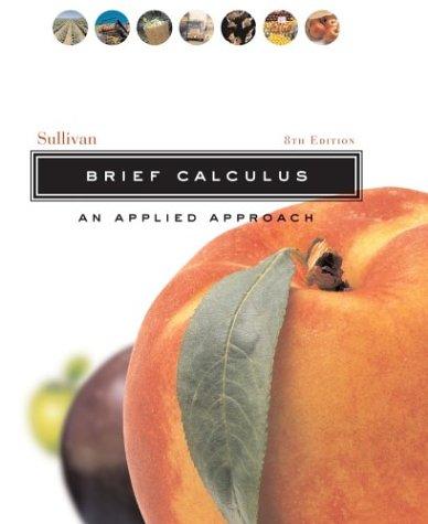 9780471452027: Brief Calculus: An Applied Approach