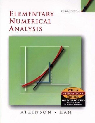 9780471452263: Elementary Numerical Analysis