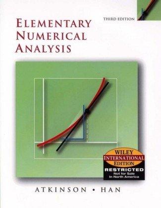 9780471452263: Elementary Numerical Analysis