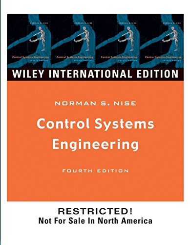 9780471452430: Control Systems Engineering, 4th Edition