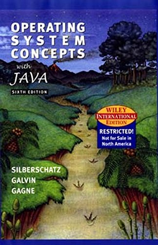9780471452492: WIE Operating Systems Concepts with Java