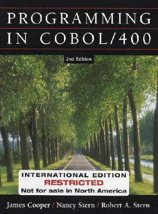 9780471452812: WIE Structured Cobol Programming for the AS400