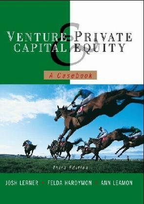 9780471452874: Venture Capital and Private Equity: A Casebook: v. 2