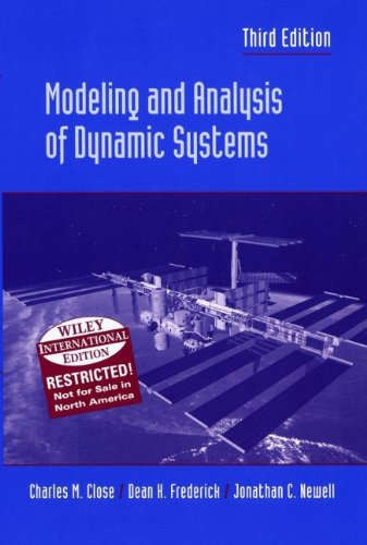 9780471452966: Modeling and Analysis of Dynamic Systems