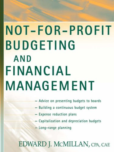 9780471453147: Not-for-Profit Budgeting and Financial Management