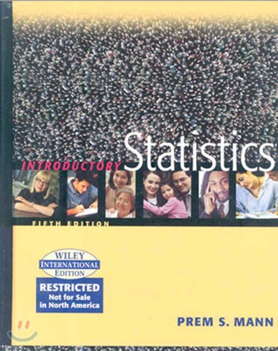 9780471453512: Introductory Statistics