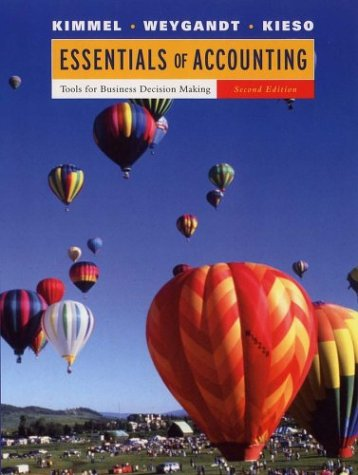 Essentials of Accounting : Tools for Business: Kimmel