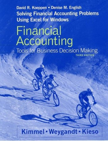 9780471453734: Financial Accounting, Solving Financial Accounting Problems Using Excel Workbook: Tools for Business Decision Making (Solving Financial Accounting Problems Using Excel for Window)