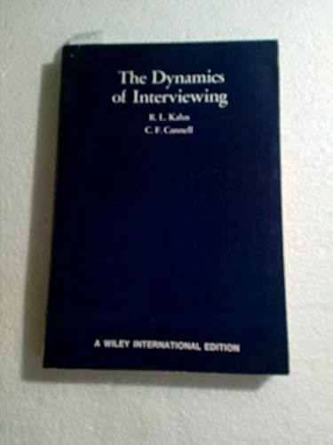 9780471454410: The Dynamics of Interviewing
