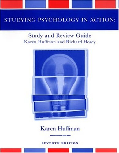 9780471454908: Study Guide to accompany Psychology in Action, 7th Edition