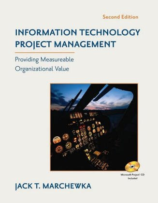 9780471455455: WIE Information Technology Project Management with CD