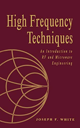 9780471455912: High Frequency Techniques: An Introduction to RF and Microwave Engineering (Wiley – IEEE)