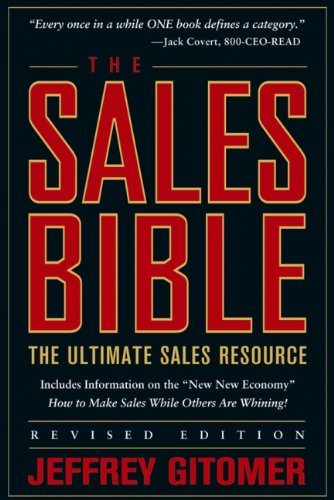 9780471456292: The Sales Bible: The Ultimate Sales Resource, Revised Edition