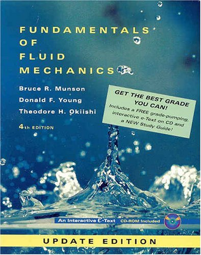 9780471456377: Fundamentals of Fluid Mechanics (Package Edition W/CD-ROM)
