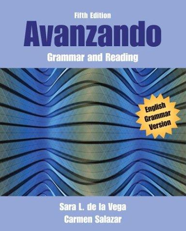 9780471456384: Avanzando: Grammar and Reading