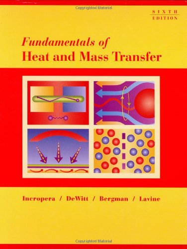 9780471457282: Fundamentals of Heat and Mass Transfer