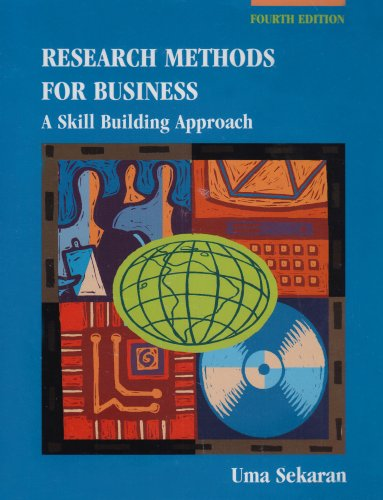 9780471458845: Research Methods for Business: A Skill Building Approach
