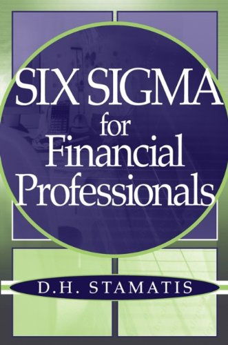 9780471459514: Six Sigma for Financial Professionals (Wiley Essentials)
