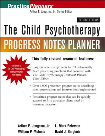 9780471459804: The Child Psychotherapy Progress Notes Planner (PracticePlanners)