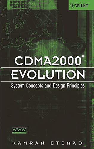 9780471461258: CDMA2000 Evolution: System Concepts and Design Principles