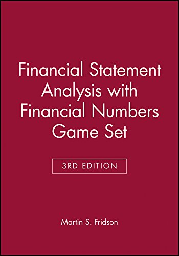 9780471463207: Financial Statement Analysis with Financial Numbers Game Set