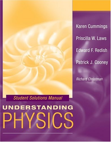 9780471464396: Student Solutions Manual to accompany Understanding Physics