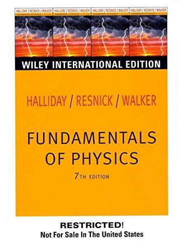Wie Fundamentals of Physics: David Halliday
