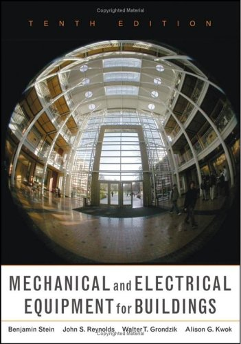 9780471465911: Mechanical and Electrical Equipment for Buildings, 10th Edition