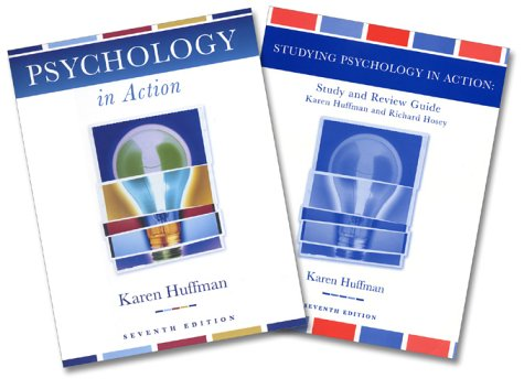 9780471466086: Psychology in Action, Textbook and Study Guide, 7th Edition